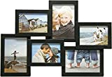 Henzo Holiday Gallery 6 Frame schwrz Galerierahmen, Plastik, schwarz, 10 x 15 cm