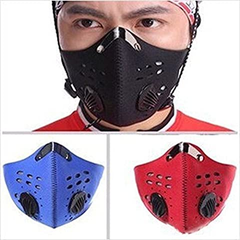 Bei wang Wind /Dust/ Cold-Proof Face Mask with filter for Cycling bicycle Motorcycle ski Outdoor Sport
