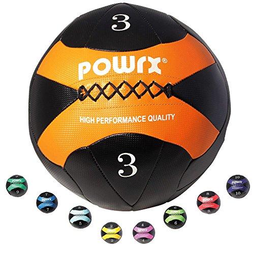 POWRX - Wall Ball Balón medicinal 2 kg