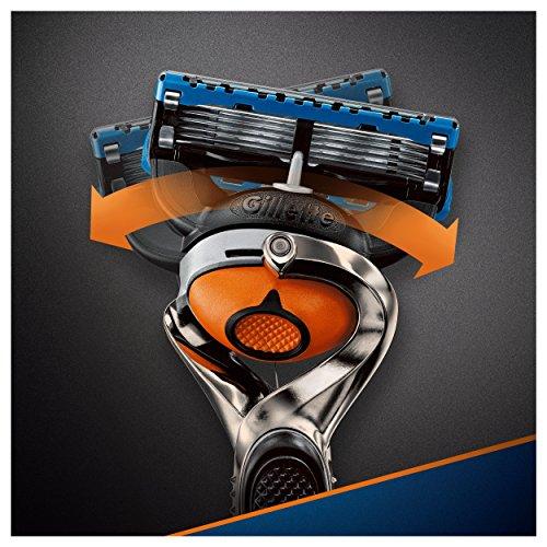 Gillette Fusion Proglide Flexball Rasoio da Uomo – 1 Manico + 1 Lametta - 7