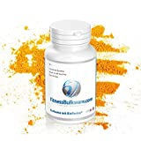 Kurkuma mit BioPerine® Kapseln - Antioxidant & Anti-Aging Supplement - 100% Natural - Non-Gmo - Made in Germany (1 Dose)