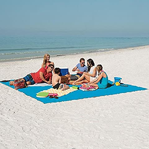 Marchy Tapis de plage anti-sable - Grande couverture idéale pour
