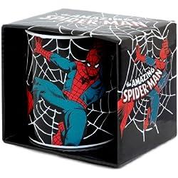 Logoshirt Marvel Comics–Spider-Man Taza de café–présenté Dans un Coffret Cade