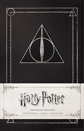 Harry Potter - the Deathly Hallows Ruled Notebook di Insight Editions
