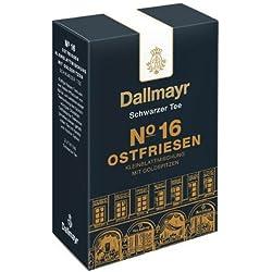 Dallmayr Schwarztee - Nr. 16 Ostfriesen Kleinblattmischung, Assam Tee, Schwarzer Tee, Loser Tee, Ceylon Tee, Würzig/Malzig, 3 x 100 g
