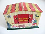 Nostalgie Spardose Blech Bank Snow White Sparhaus
