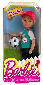 "Darrin w/ Soccer Ball: Barbie Chelsea & Friends Summer Dreamhouse Collection ~5.5"" Doll Figure"
