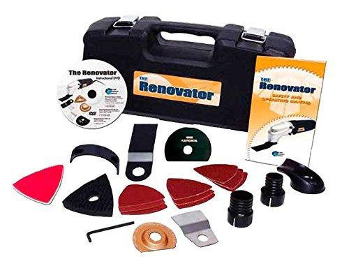 RENOVATOR L'outil multi-fonction avec coffret de 15 accessoires -