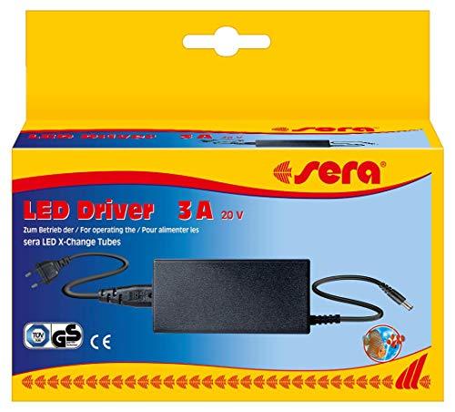 sera 80774 LED Driver Vorschaltgerät 20V 3A (neue Version) - zum Betrieb der sera LED Tubes, max. Verbrauch < 60 Watt