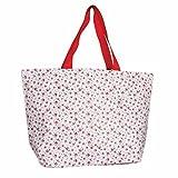 LS Design XL Öko Jumbo Shopper Einkaufstasche Recycled Strandtasche Schultertasche Rose 60x20x37cm