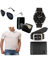Lime Offers Of Men's T Shirts Sunglasses Watch Wallet Belt And Cardholder