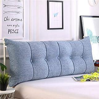 CYWSHA Rechteckige Bettwissen,Support Für Kissen Zurück Entfernbar Soft Kissen Für Sofa Hotel Krankenhaus Schlafzimmer Studie Auto-l 120x60x20cm(47x24x8inch)