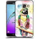 Head Case Designs Perroquet Aquarelle D'animaux Étui Coque en Gel molle pour Samsung Galaxy A3 (2016)