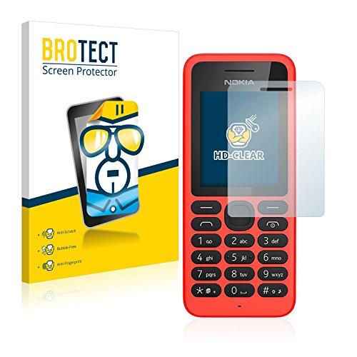 BROTECT Pellicola Protettiva Compatibile con Nokia 130 (2 Pezzi) - Protezione Schermo, Ultra Trasparente