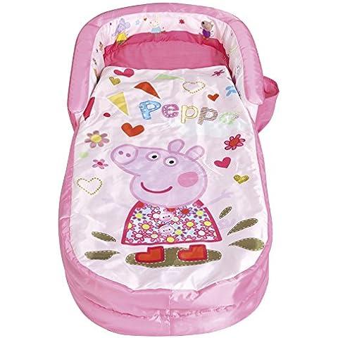 ReadyBed 401PIP - Cama hinchable portátil con diseño Peppa Pig, color rosa