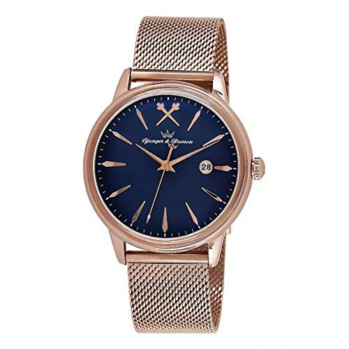 Orologio Yonger & Bresson Uomo Blu–HMR 052/GM–Festa dei padri