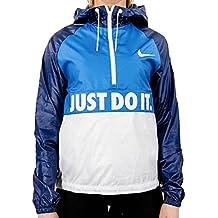 Nike City Packable Jacket Chaqueta, Mujer, Azul (Lt Photo Blue/Binary Blue/White), S