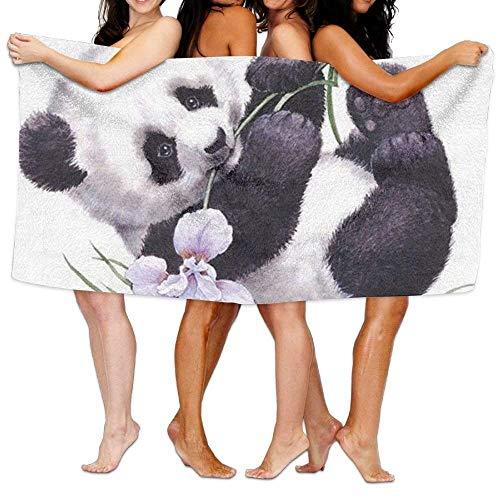 jinhua19 Strandtücher Handtücher Unisex Cute Panda Beach Towels Bath Towels for Teen Girls Adults Travel Towel Washcloth 31x51 Inches