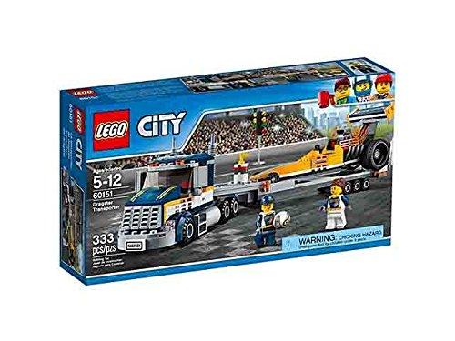 Lego city trasportatore di dragster giocattolo gioco idea regalo natale #ag17