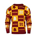 Forever Collectibles NFL Washington Redskins Patches Ugly Sweater