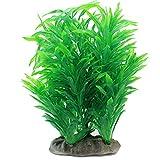 Kunstpflanze Aquarium Künstliche Wasserpflanze Aquariumpflanzen Plastik Grün