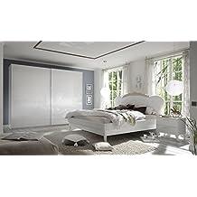 suchergebnis auf amazon.de für: schlafzimmer komplett weiß hochglanz - Schlafzimmer Set Hochglanz Weis