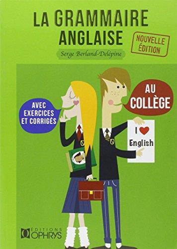 La grammaire anglaise au collge