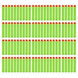 StillCool 100pcs Mousse Fléchettes Recharge Balle de Nerf pr N-STRIKE ELITE Blasters Pistolet Jouet Darts Refill Bullet for Toy Gun (100pcs, Ventouse, Vert)