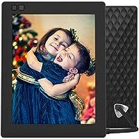 NIXPLAY Seed Digitaler Bilderrahmen WLAN 8 Zoll W08D Schwarz. Fotos & Videos per App oder Email an den Elektronischen Fotorahmen übertragen. IPS Display. Auto On/Off Funktion (Hu-Motion Sensor)