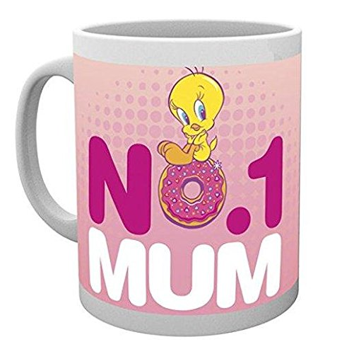 GB Eye, Looney Tunes, Mothers Day Number One Mum, Tasse,