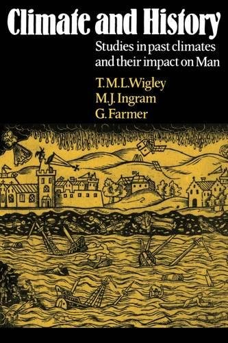 Climate and History: Studies in Past Climates and Their Impact on Man