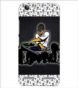 PrintDhaba DJ D-6032 Back Case Cover for LENOVO LEMON 3 (Multi-Coloured)