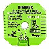 Funk-Empfänger Free-control mit Dimmfunktion für elektronische Trafos Neue Generation