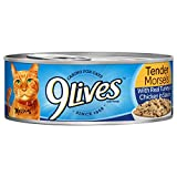 9Lives Tender Morsels With Real Turkey And Chicken In Sauce Wet Cat Food Can, 5.5 Ounce, Pack Of 6