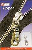 Reissverschluss Zipper Öse zur Reparatur defekter Reissverschlüsse (brüniert)
