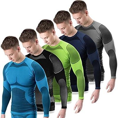 BlackSnake® Funktionsunterwäsche Herren Unterhemden Seamless Unterwäsche Sport von BlackSnake auf Outdoor Shop