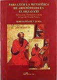 Para leer la metafísica de Aristóteles en el siglo XXI: análisis crítico hermenéutico de los 14 logoi de filosofía primera