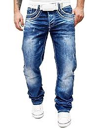 Bleu Cipo & Baxx Jeans Lumière Designers décoratif contrastive points moderne