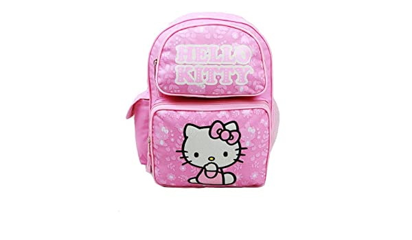 846a3c662b Hello Kitty Small Backpack Pink New School Bag Book Girls 811089-2   Amazon.co.uk  Toys   Games