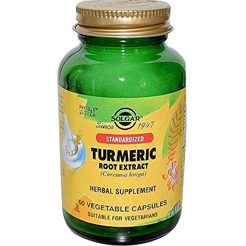 Solgar - Sfp Turmeric Root Extract, 60 veggie caps