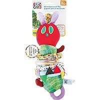 Raupe Nimmersatt motricidad juguete con vibración, escuchar y sentir y teclas, SCHULT la Percepción sentidos, un divertido motricidad juguete para los más pequeños a partir de 0años