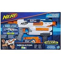 Nerf Modulus N-Strike Modulus Mediator, Color Azul, Naranja, Blanco (Hasbro E0016EU4)