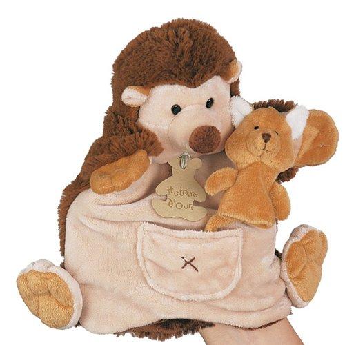 Histoire d'ours HO1354 - Marioneta mano erizo marioneta
