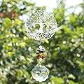 H&D Kronleuchter Kristall Prismen Kronleuchter hängen Metall Leben Baum Anhänger von H&D Crystal Manufacture Co.,Ltd. auf Du und dein Garten