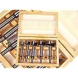 Toolzone Kit 5 embouts pour Forstner Boîte en bois
