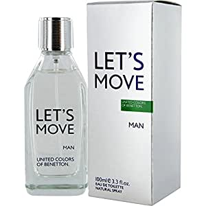 United Colors of Benetton Let'S Move By Benetton for Men, 100ml