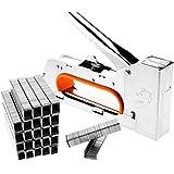 Tech Traders® 4/6/8mm acero pistola grapadora para tapicería grapadora (no-staples)