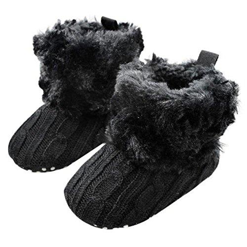 chaussures bébé,Xinan Snow Baby Bottes souples Crib Shoes