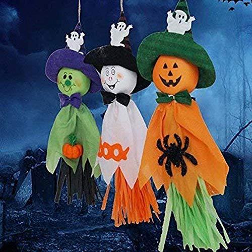 (BUOCEANS Halloween Girlanden, Halloween Banner Dekoration Set, Halloween Party Deko-Set, Halloween Dekoration Geist Girlande für Halloween zum Aufhängen Dekorationen, Halloween Requisiten)