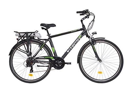 Atala Bici elettrica E-Run FS Man 28'' Brushless 36v ECO-logic 6 velocità (City elettrica) / Pedelec eBike E-Run FS Man 28'' Brushless 36v ECO-logic 6 speed (City electric)